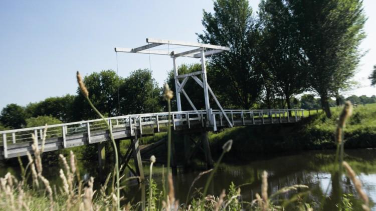 Het bekende bruggetje