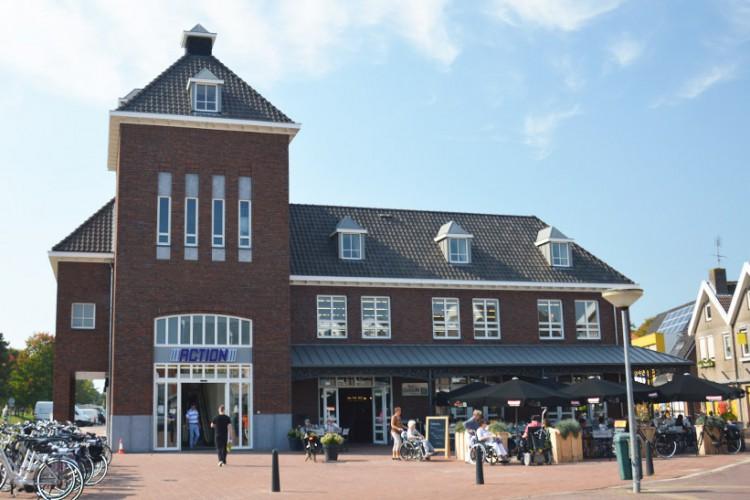 Nieuw marktgebouw