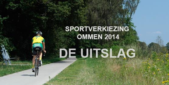 Sportverkiezingsuitslag 2014 bekend