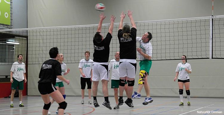 Volleybalclinics groep 7/8 Landstede Welzijn bij Volco op 1 en 9 maart