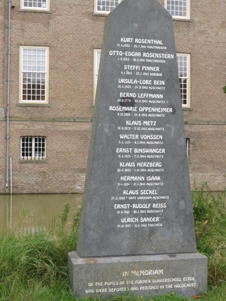 Kasteel Eerde monument