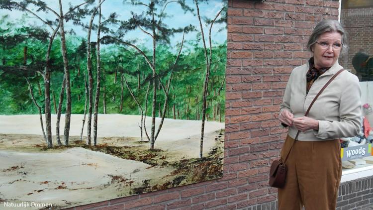 Route kunstpanelen in Ommen officieel geopend