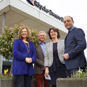 Minister Schippers vol lof over samenwerking huisartsen en specialisten in Vechtdal
