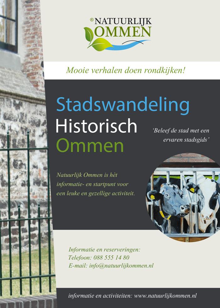 Stadswandelingen Historisch Ommen vanaf 23 juli 2015