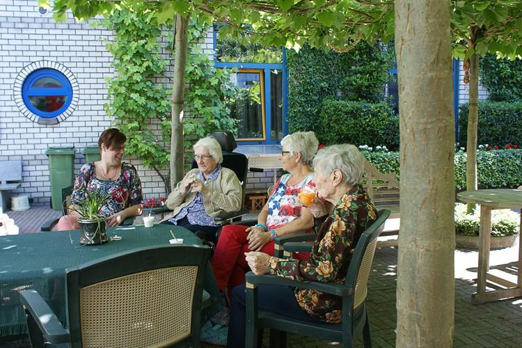 Ouderenzorg Saxenburgh Groep paraat met hitteplan