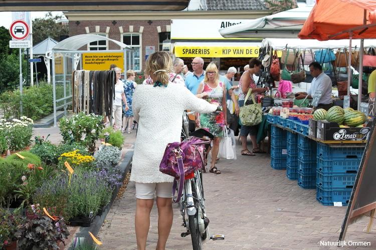 Markt in Ommen: elke week op dinsdag
