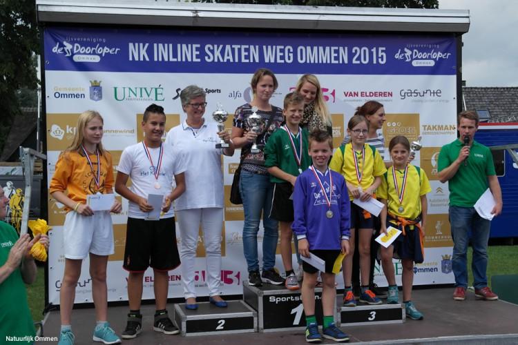 Filmpje: Ommer Scholenkampioenschap Inline Skaten op de weg