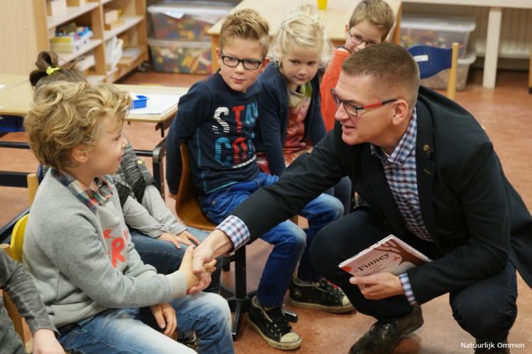 Aandacht voor duurzaamheid en lezen in de 'Sint Willibrordusschool' in Vilsteren