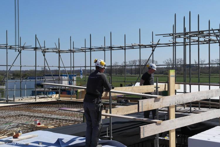 Nieuwbouw Woonzorgcentrum Oldenhaghen in Ommen bereikt hoogste punt