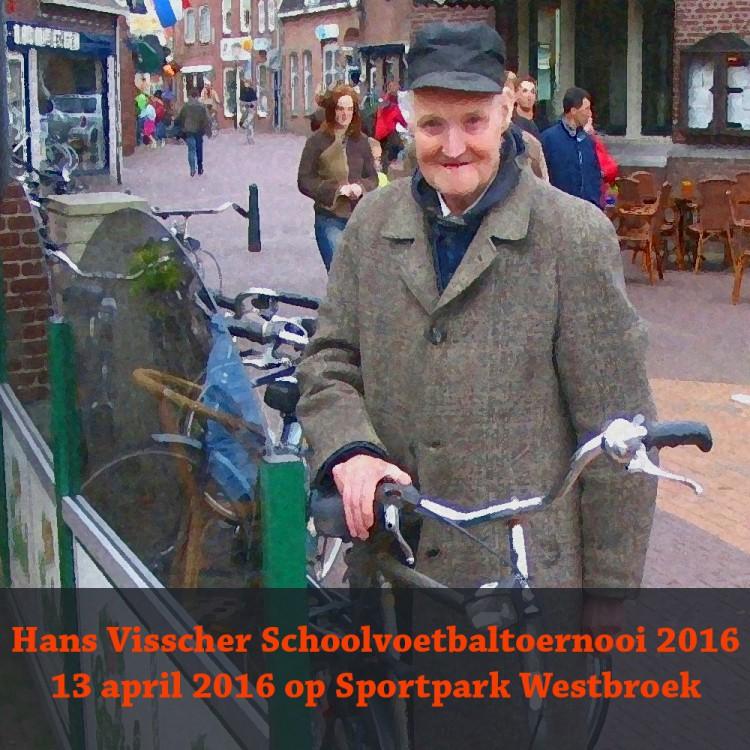 Hans Visscher Schoolvoetbaltoernooi op 13 April in Ommen