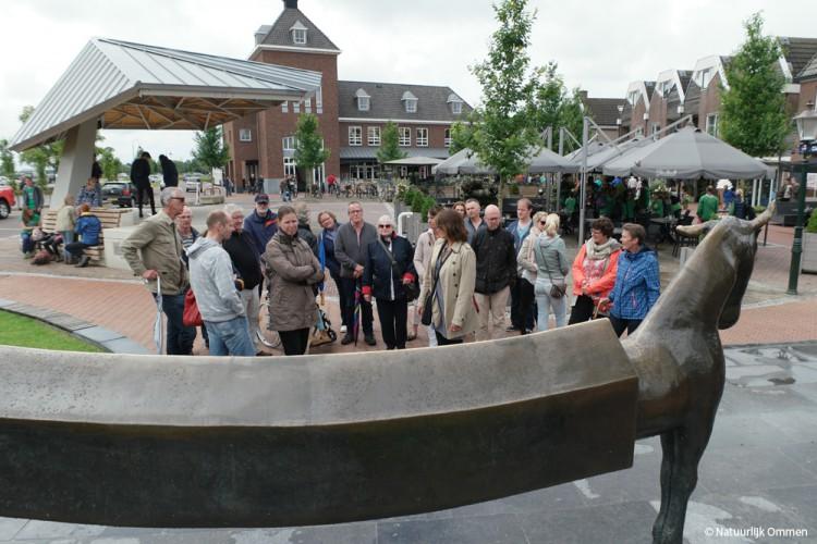 Docenten van CSG Reggesteyn Nijverdal maken stadswandeling in Ommen