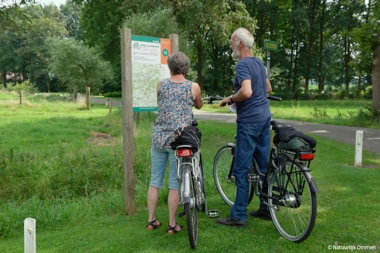 Ommen en omgeving geliefd bij fietsers en wandelaars
