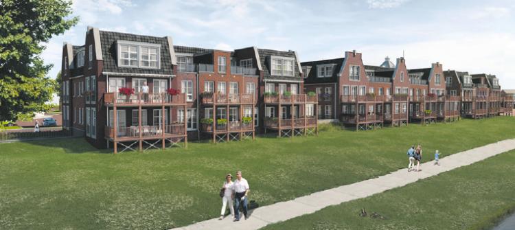 Voorbereidingen bouw appartementen Vechtkade gestart
