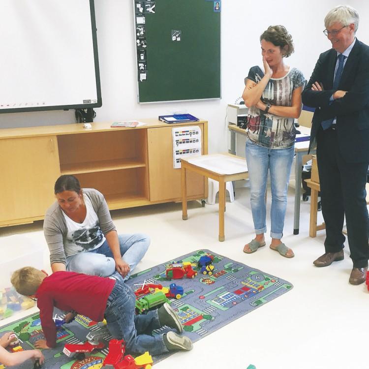 Nieuwe school van Boslust in gebruik