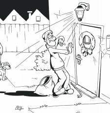 Inbraakpreventie: Avondje weg? Licht aan en deur op slot!