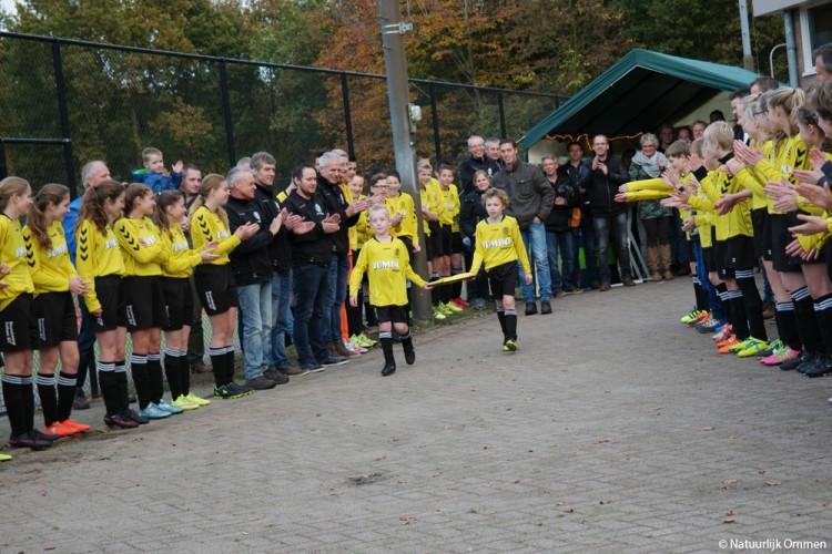 Vilsteren in haar nopjes met duurzaam kunstgras op voetbalveld 'Wij zijn trots!'