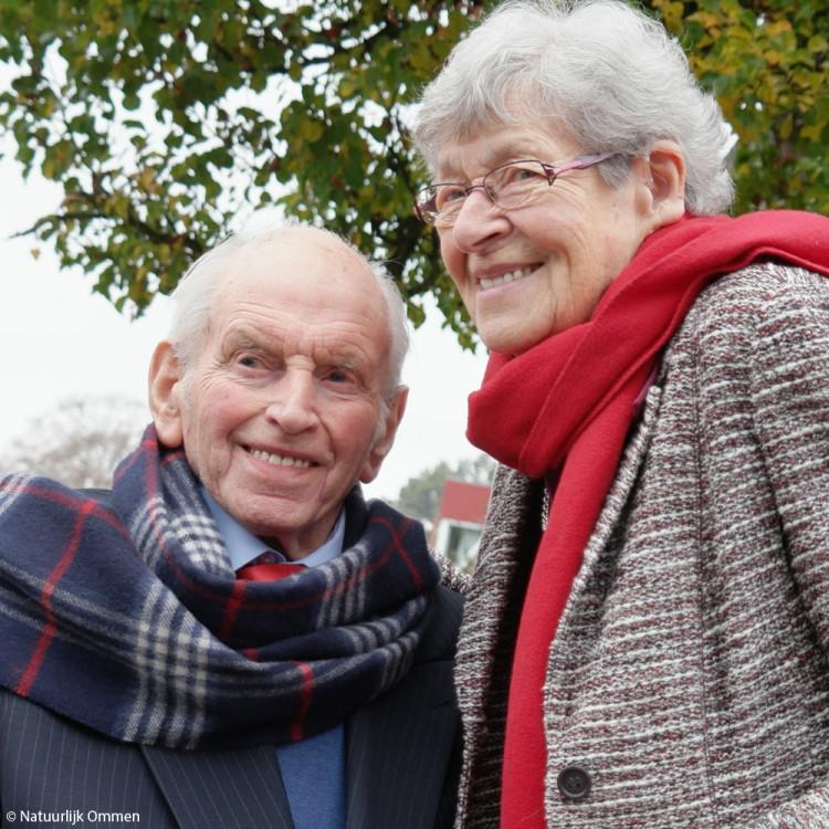 Dick en Marietje Kodden-Bosch uit Ommen zijn 60 jaar getrouwd