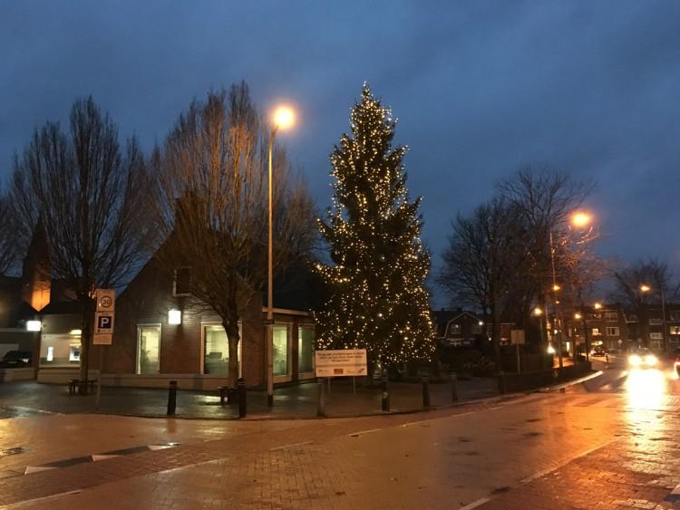 Kerstgedachte aan de Julianastraat