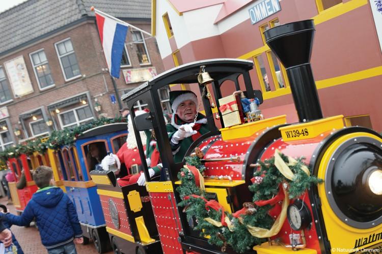 Kerstfair in het centrum van Ommen