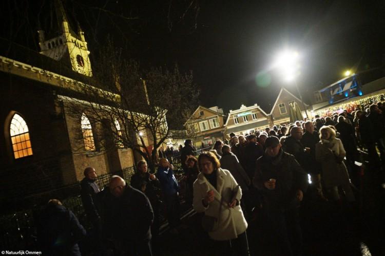 Muziek tijdens kerstnacht in Ommen