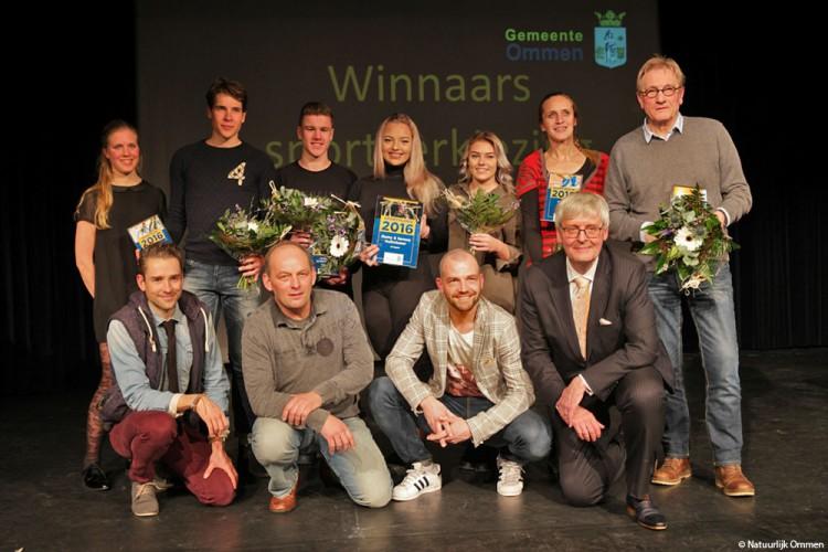 Winnaars Sportverkiezing Ommen 2016 bekend