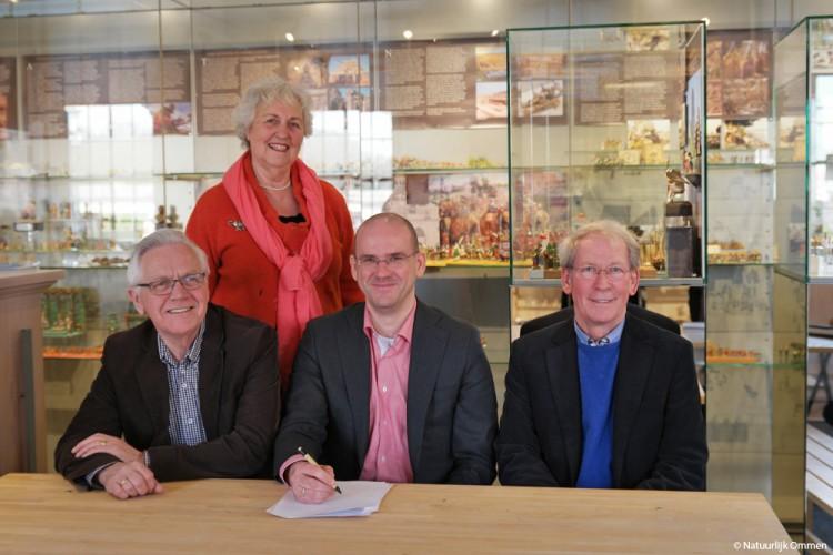Notariskantoor Bentum Nijboer steunt het Tinnen Figuren Museum Ommen