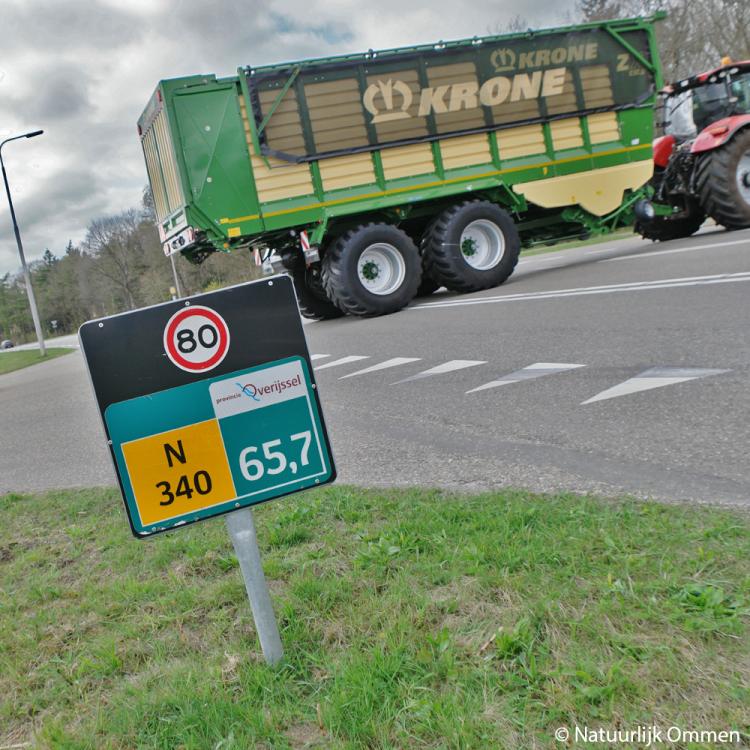 Grote zorgen in Varsen over herinrichtingsplannen Hessenweg N340