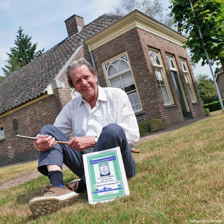 Adriaan Grootenhuis schrijft Golfgeschiedenis in Ommen