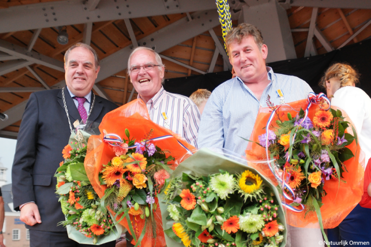Douwe Bron en Berjan ten Brinke beiden benoemd tot Lid in de Orde van Oranje-Nassau