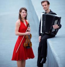 Spaans concert op viool en accordeon