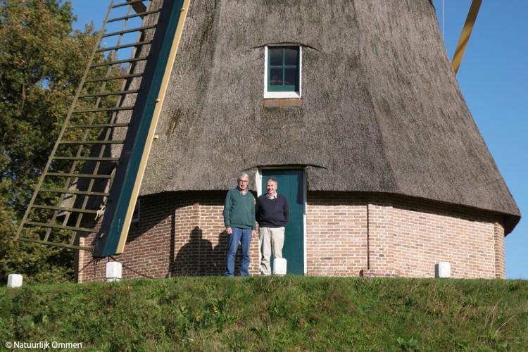 Het Bezoekerscentrum Ommen bij de molen krijgt bezoek uit Nieuw-Zeeland en Raalte