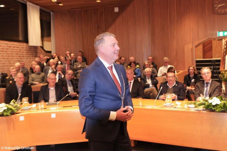 Hans Vroomen geïnstalleerd en beëdigd als burgemeester van Ommen