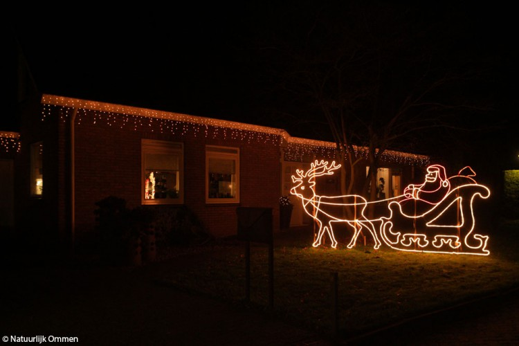 Inwoners Ommen hebben weer bijgedragen aan een mooie kerstsfeer