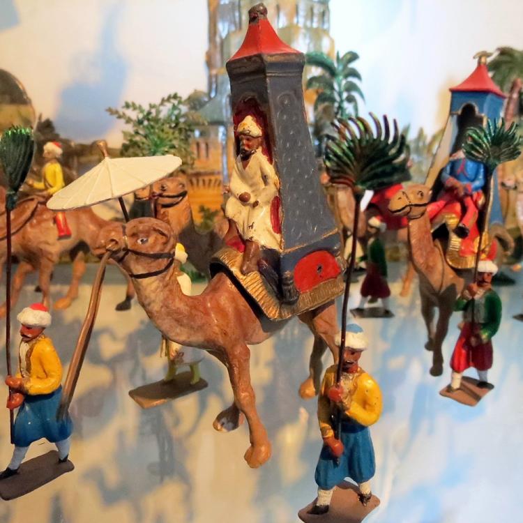 Nieuwe expositie 'Speelgoed Schatten' in het Nationaal Tinnen Figuren Museum start in maart 2018
