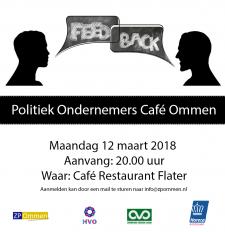 Politiek Ondernemers Café Ommen
