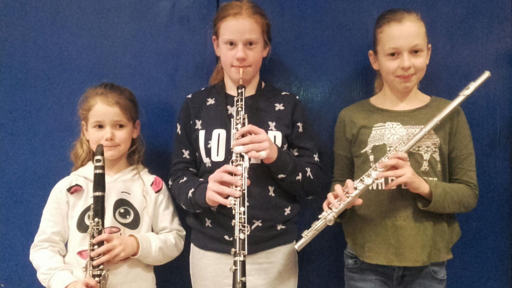 Klarinet, hobo en fluit bij Crescendo Ommen