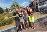 Jongeren vieren vakantie in Ommen