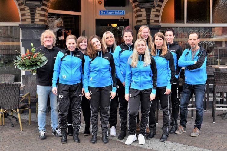Café de Herberg in Ommen is de nieuwe sponsor van Volco Dames 4