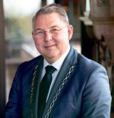 'En toch moeten we alert blijven', aldus burgemeester Hans Vroomen.