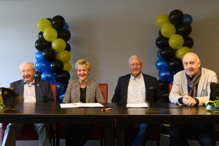 Eerste Gouden sponsoren tekenen contract met FC Ommen